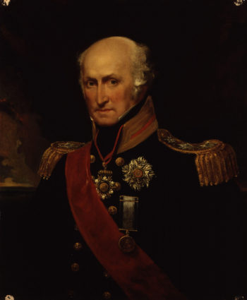 Sir Benjamin Hallowell Carew   John Hayter   oil painting