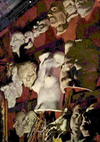 Atelierwand | Adolph von Menzel | oil painting