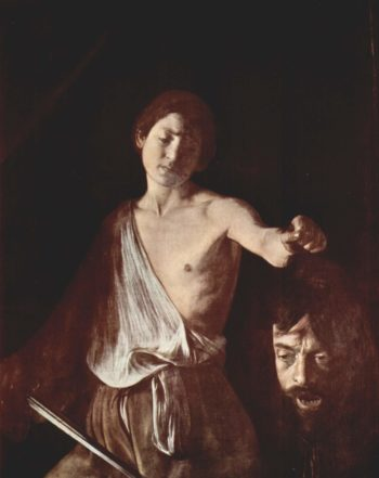 David mit dem Haupte Goliaths | Michelangelo Merisi da Caravaggio | oil painting