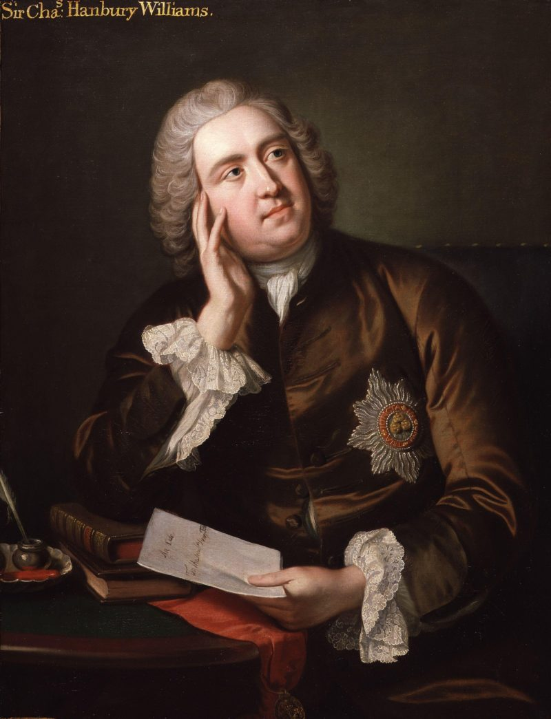 Sir Charles Hanbury Williams | John Giles Eccardt | oil painting