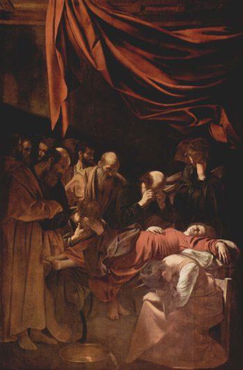 Tod Mari?   Michelangelo Merisi da Caravaggio   oil painting