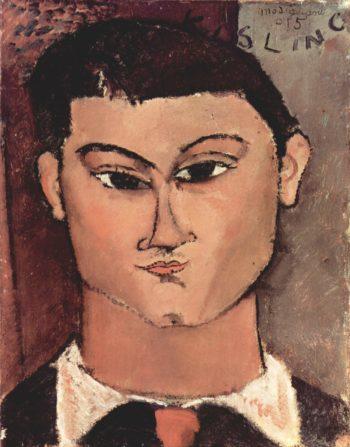 Portr?t de Moise Kiesling | Amadeo Modigliani | oil painting