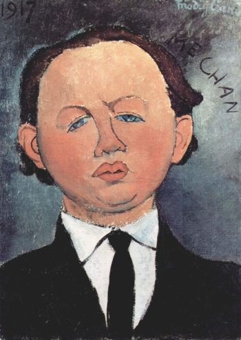 Portr?t des Mechan | Amadeo Modigliani | oil painting