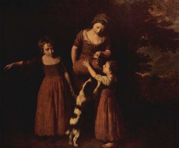 Die Familie des Bauern | Opie