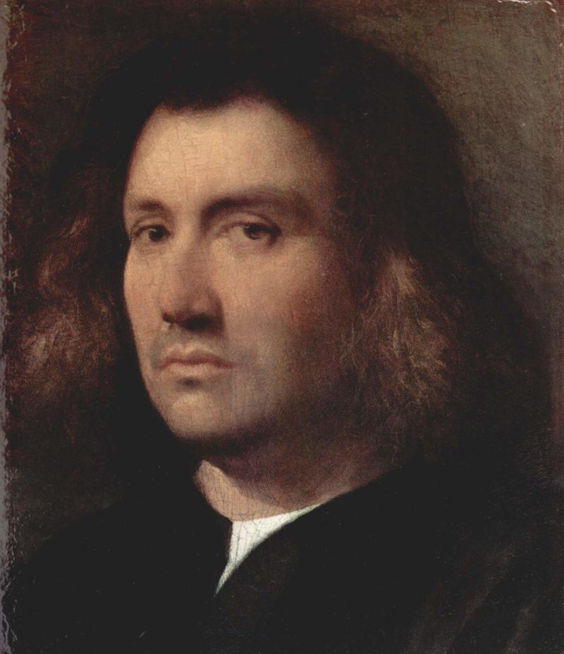 Portr?t eines Mannes (B?ste eines Mannes) | Palma il Vecchio | oil painting