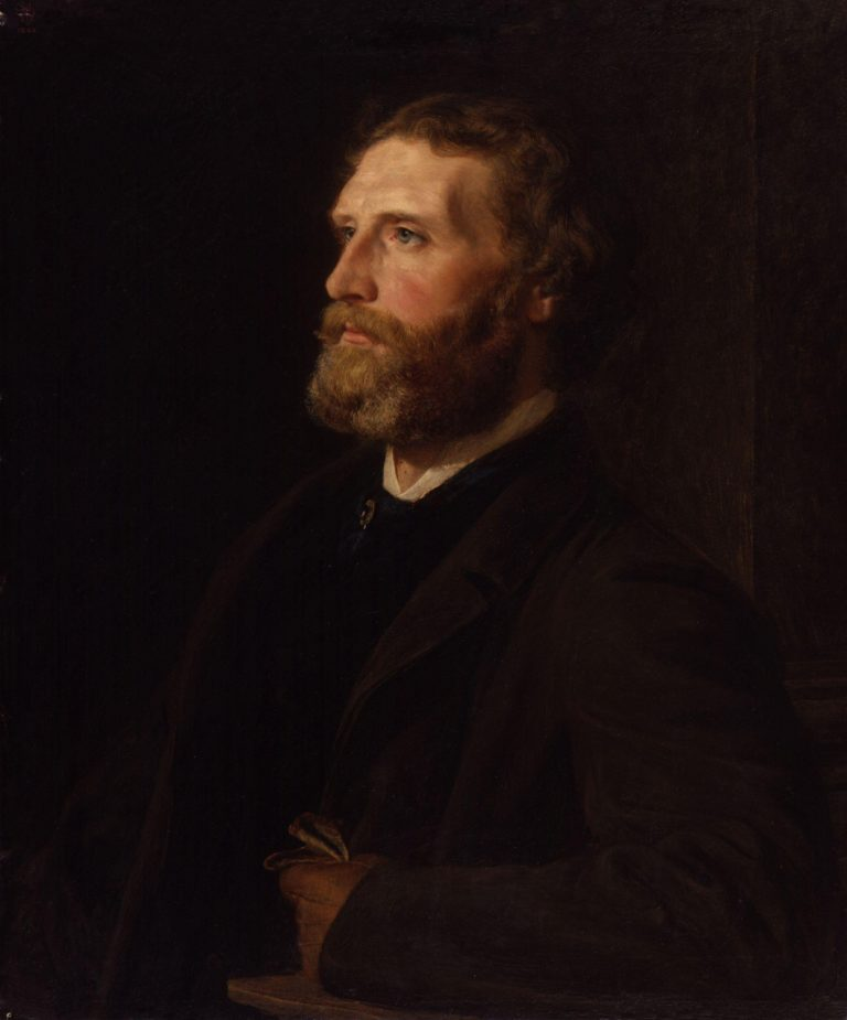 Sir Frederic William Burton | Henry Tanworth Wells | oil painting
