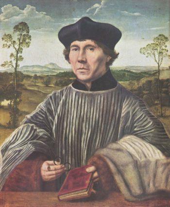 Portr?t des Kanonikus Stephan Gardiner | Massys