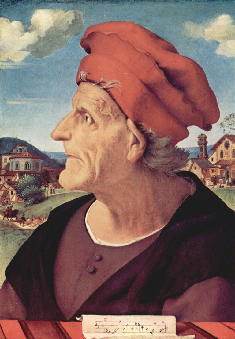 Portrait of Francesco Giamberti. Alternate title(s): Portrait of Francesco Giamberti