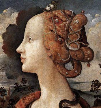 Portr?t der Simonetta Vespucci | Piero di Cosimo | oil painting