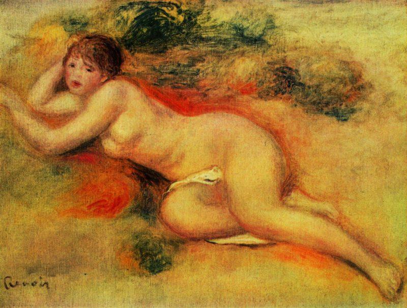 Akt | Pierre-Auguste Renoir | oil painting
