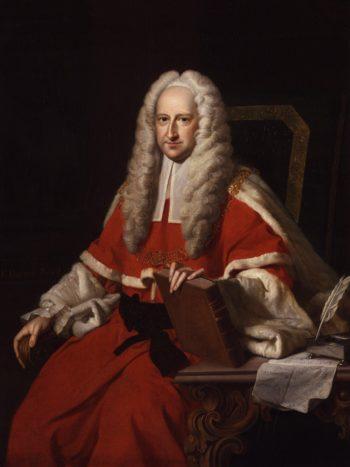 Sir John Willes | Thomas Hudson | oil painting