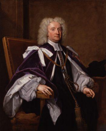 Sir Jonathan Trelawny 3rd | Sir Godfrey Kneller | oil painting