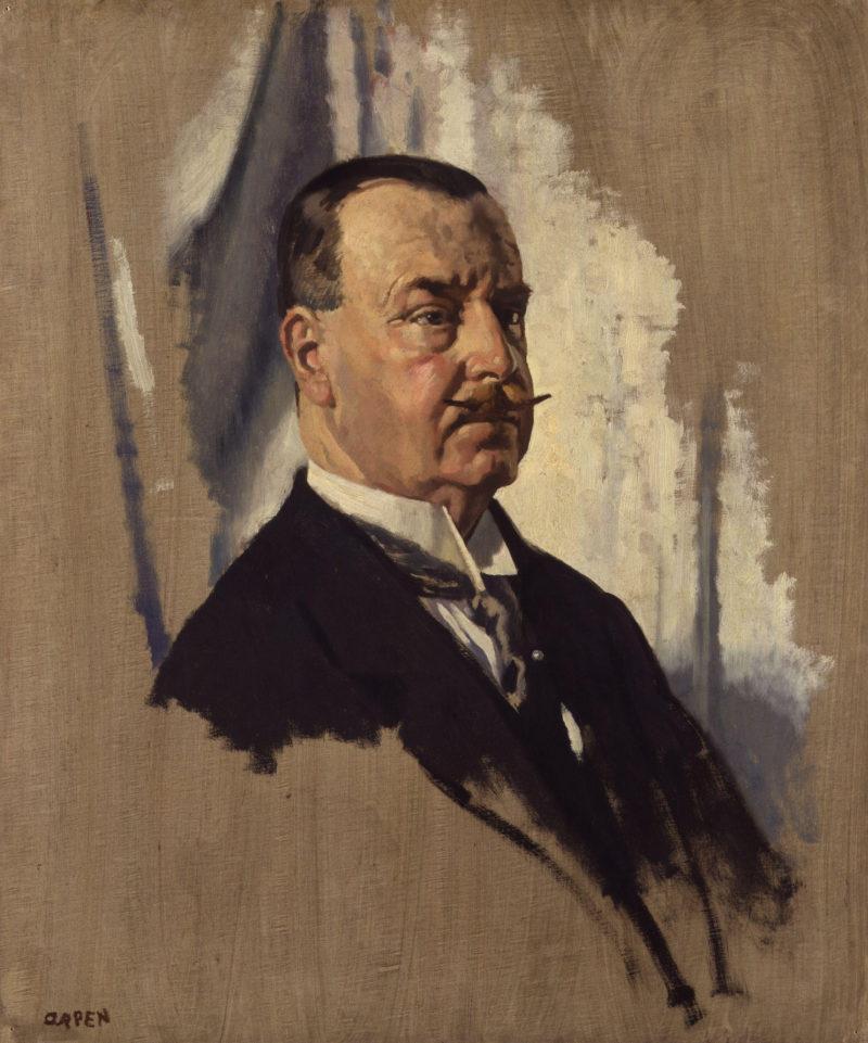 Sir Joseph George Ward 1st | Sir William Orpen | oil painting