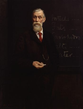 Sir Michael Foster | John Collier | oil painting