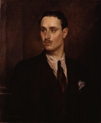Sir Oswald Mosley 6th | Glyn Warren Philpot | oil painting