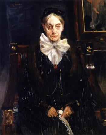 Portrait of Frau Schreiber | Lovis Corinth | oil painting