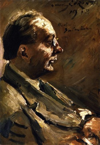 Portrait of Herbert Eulenberg   Lovis Corinth   oil painting