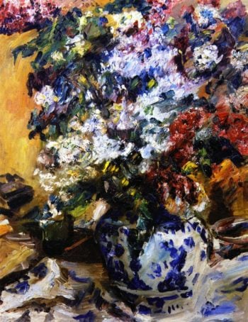 Still Life with Lilacs | Lovis Corinth | oil painting