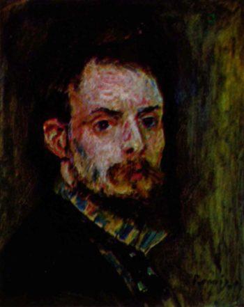 Selbstportr?t | Pierre-Auguste Renoir | oil painting