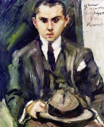 Thomas with His Hat in His Hand | Lovis Corinth | oil painting