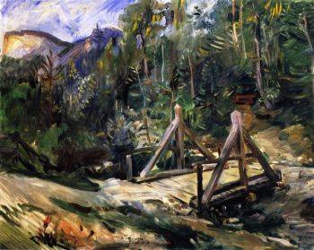 Tyrolean Landscape with Bridge | Lovis Corinth | oil painting