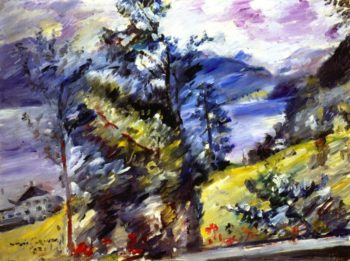 Walchensee View of the Wetterstein | Lovis Corinth | oil painting