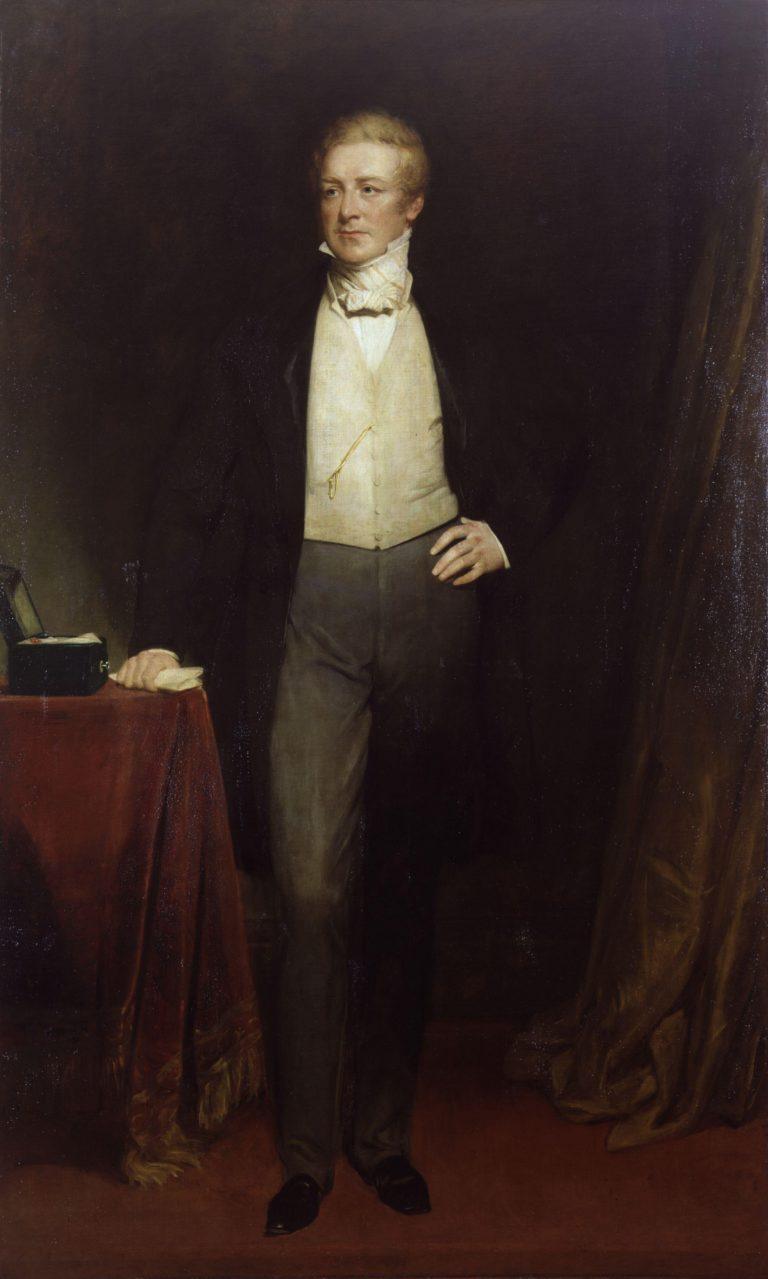 Sir Robert Peel 2nd | Henry William Pickersgill | oil painting