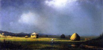 A Cloudy Day | Martin Johnson Heade | oil painting