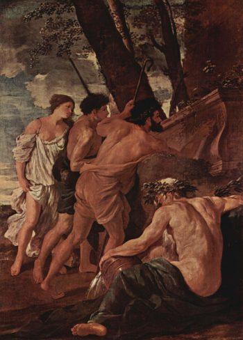 Die Hirten von Arkadien | Nicolas Poussin | oil painting