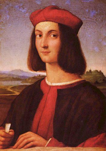 Portr?t eines jungen Mannes | Raffael | oil painting