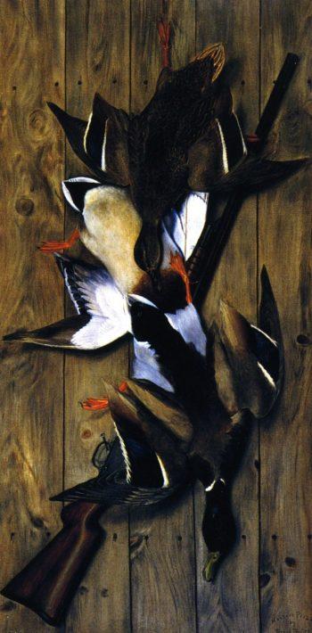 Hunters Pride | Joseph Henry Sharp | oil painting