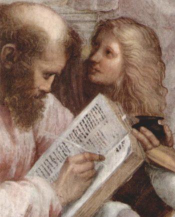 Stanza della Segnatura im Vatikan f?r Papst Julius II.