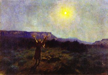 Lament for the Dead | Joseph Henry Sharp | oil painting