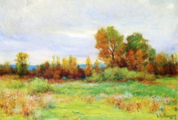 Southwest Landscape | Joseph Henry Sharp | oil painting