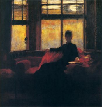 An October Evening | Sir John Lavery | oil painting