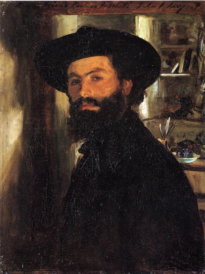 Alberto Falchetti | John Singer Sargent | oil painting