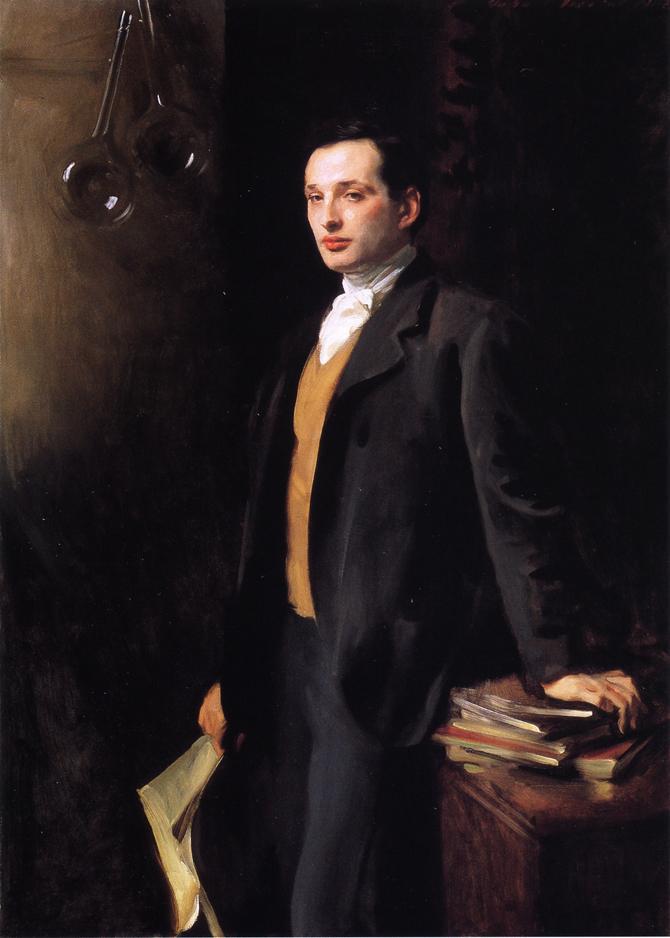 Alfred Son of Asher Wertheimer | John Singer Sargent | oil painting