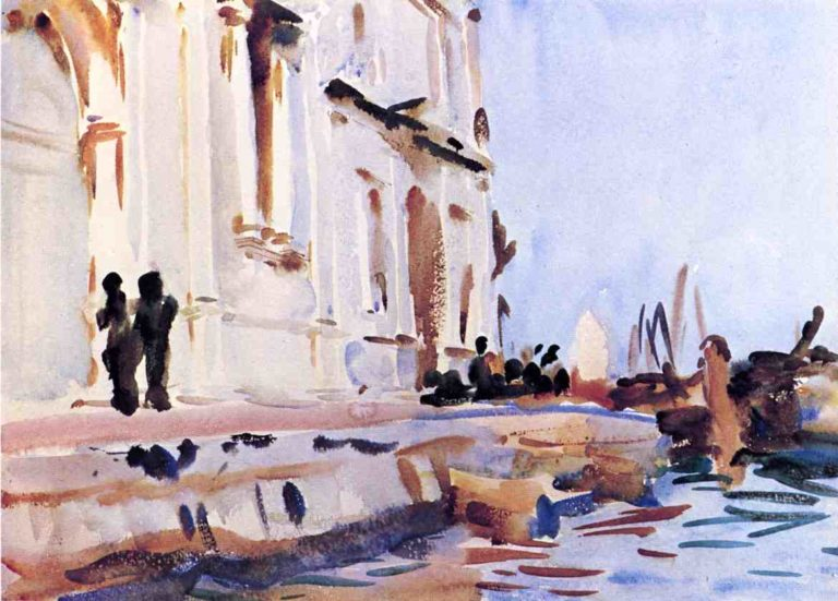 All Ave Maria   John Singer Sargent   oil painting