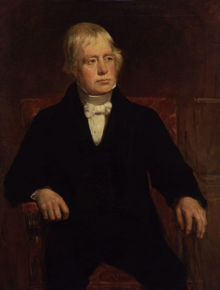 Sir Walter Scott 1st | John Graham Gilbert | oil painting