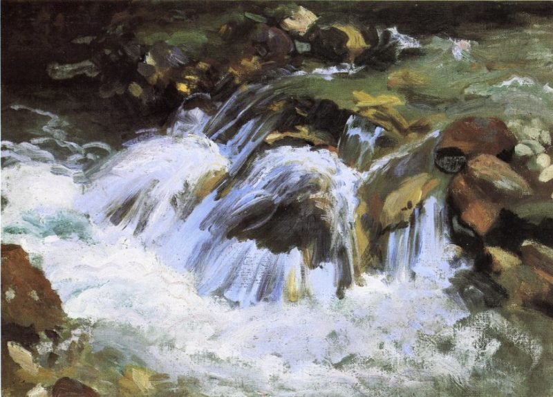 A Mountain Stream Tyrol | John Singer Sargent | oil painting