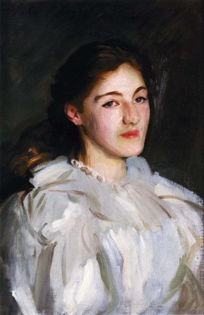 A Portrait of Cicely Horner | John Singer Sargent | oil painting
