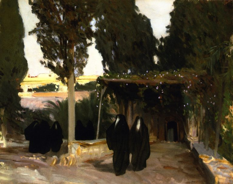 Arab Women Jerusalem | John Singer Sargent | oil painting