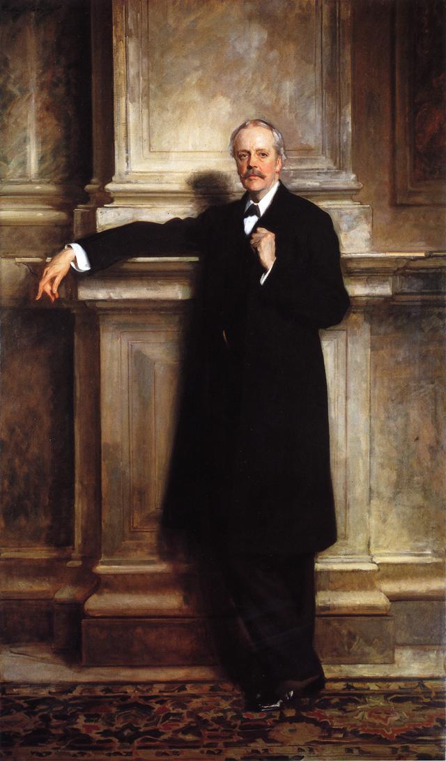 Arthur James Balfor | John Singer Sargent | oil painting