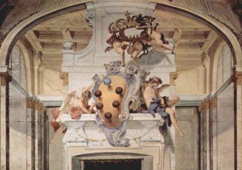 Fresken im Palazzo Pitti in Florenz