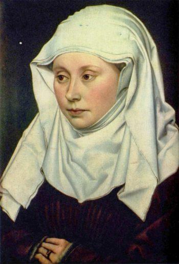 Portr?t einer Frau | Robert Campin | oil painting