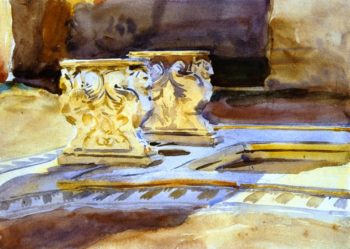 At Pompei | John Singer Sargent | oil painting