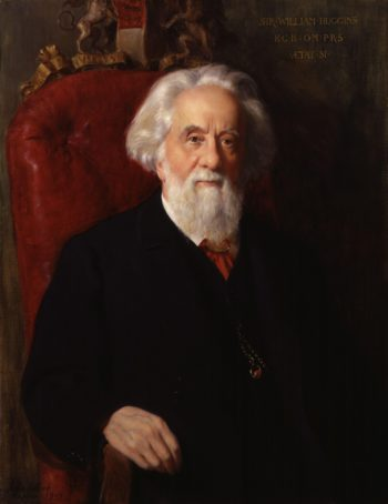 Sir William Huggins | John Collier | oil painting