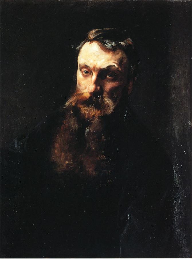 Auguste Rodin   John Singer Sargent   oil painting