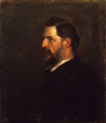 Sir William Matthew Flinders Petrie | George Frederic Watts | oil painting