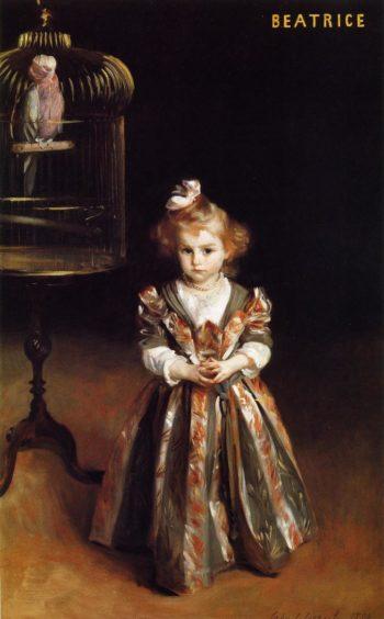 Beatrice Goelet | John Singer Sargent | oil painting
